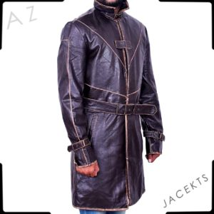 Aiden Pearce Watch Doogs Leather Coat