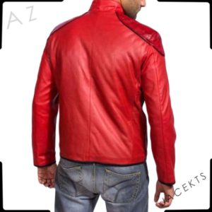 Red Shazam jacket costume