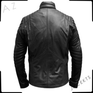 black superman jacket