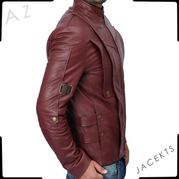 galaxy peter quill jacket