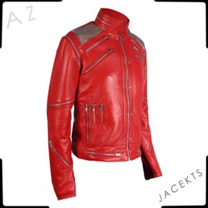 michael jackson leather jacket beat it