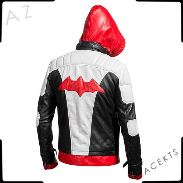red hood jacket arkham knight
