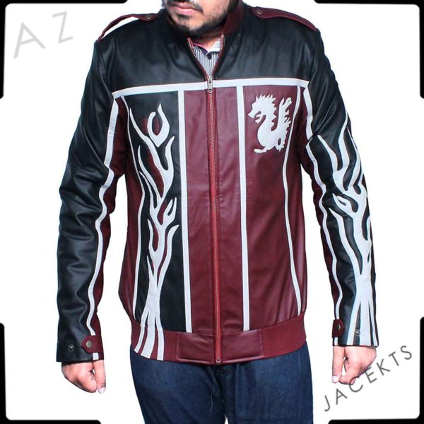 Daniel Bryan Dragon Leather Jacket