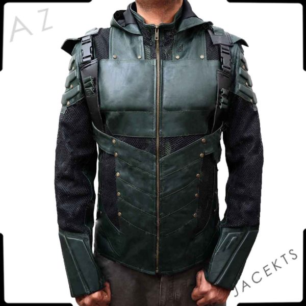 Green Arrow Season 5 Hoodie Jacket