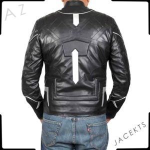 black panther costume jacket