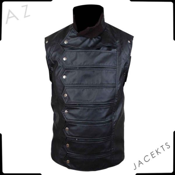 bucky winter soldier vest