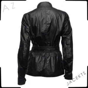 doctor who clara leather jacket