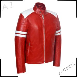 fight club mayhem leather jacket
