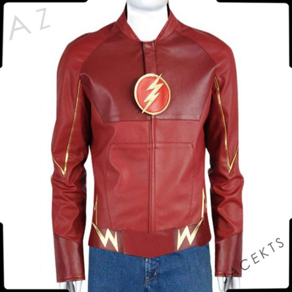 flash leather jacket