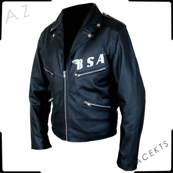george michael bsa jacket