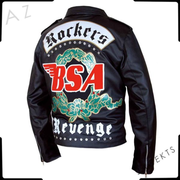 george michael faith bsa leather jacket