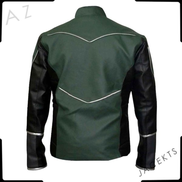 green lantern motorcycle jacket