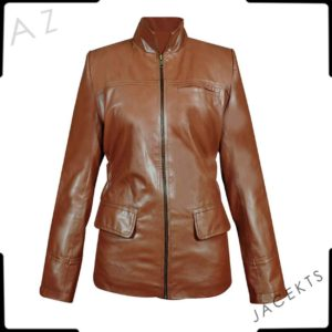hunger games katniss leather jacket