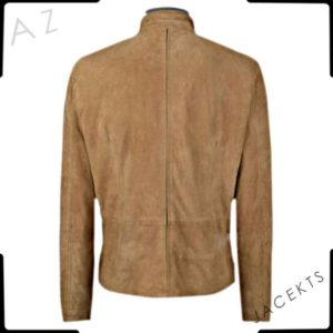 james bond suede jacket