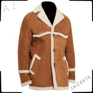 kingsman harry shearling coat