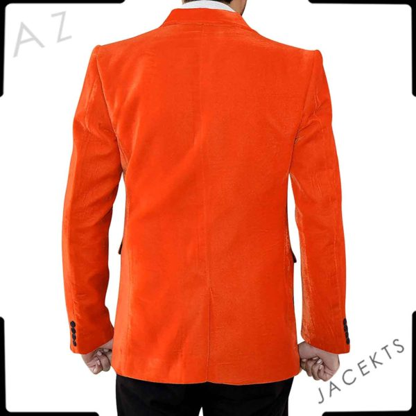orange jacket kingsman