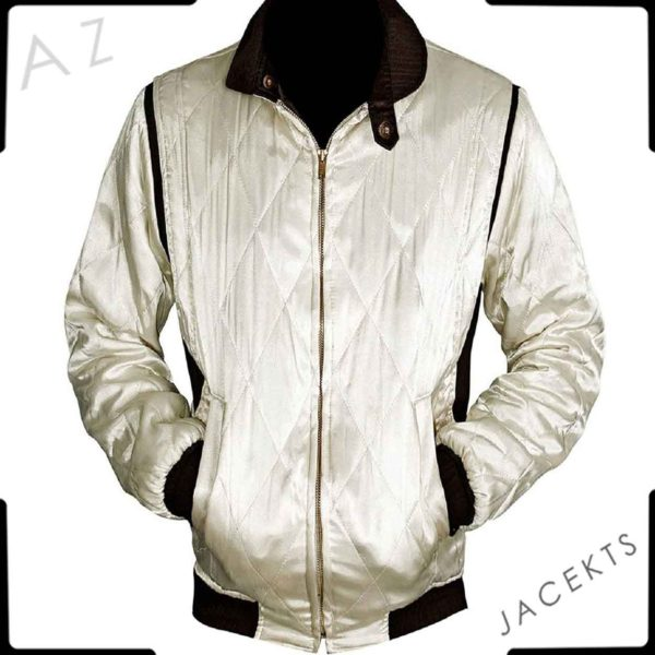 satin drive scorpion jacket