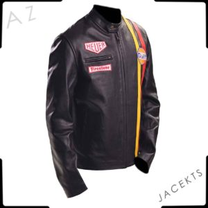 steve mcqueen leather jacket