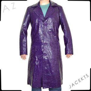 suicide squad joker trench coat