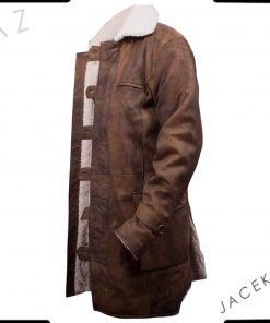 tom hardy bane coat real leather