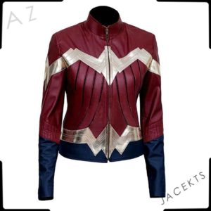 wonder woman bomber jacket