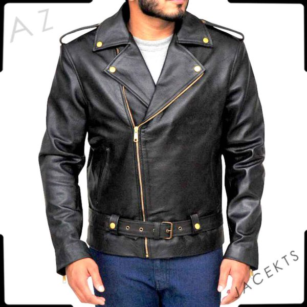 cry baby leather jacket