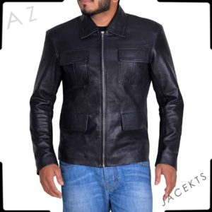 damon salvatore biker jacket
