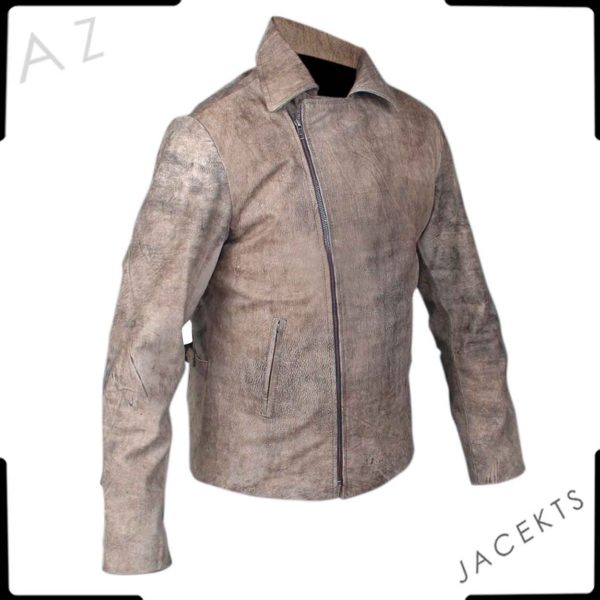 snake plissken leather jacket for sale