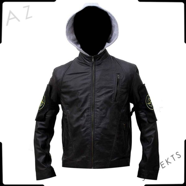 the division blak leather jacket