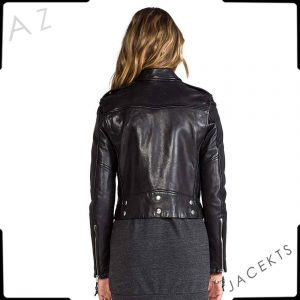 BELLA THORNE VALENTINE DAY LEATHER JACKET
