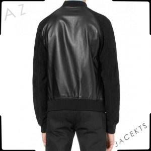Black Andrew Garfield jacket