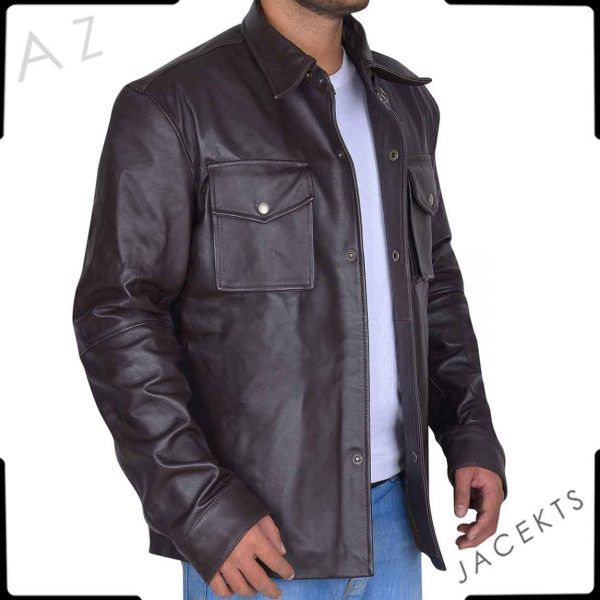 Matthews Leather Jacket