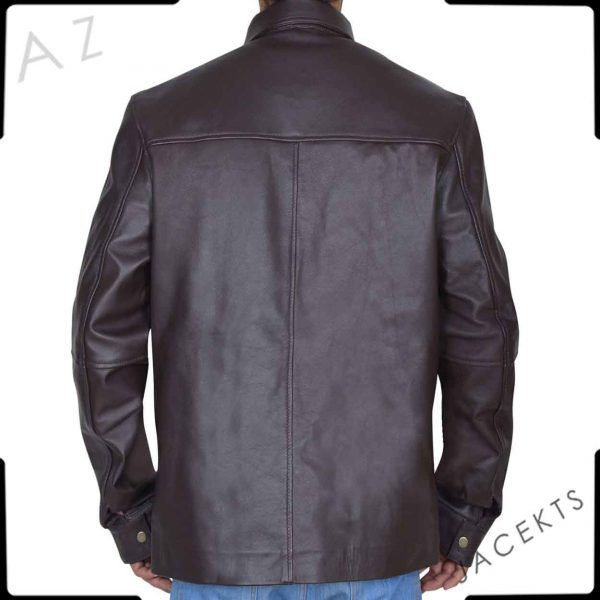 Quinton Canosa Addicted Leather Jacket