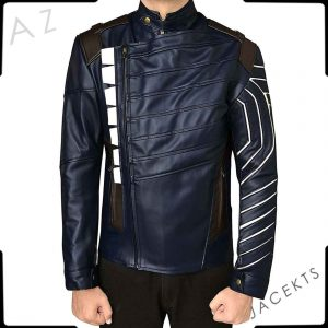 Winter Soldier Blue Jacket
