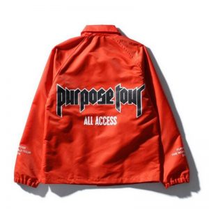 Justin Bieber Red Purpose Tour Jacket
