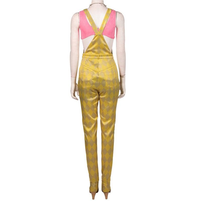 Birds Of Prey Harley Quinn Golden Romper