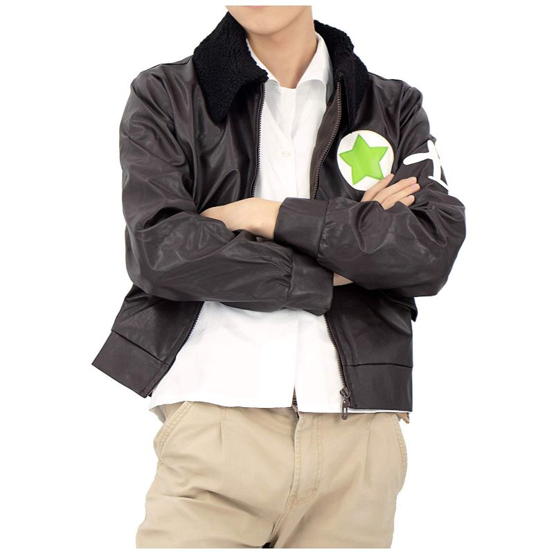Alfred F Jones Hetalia America Leather Jacket