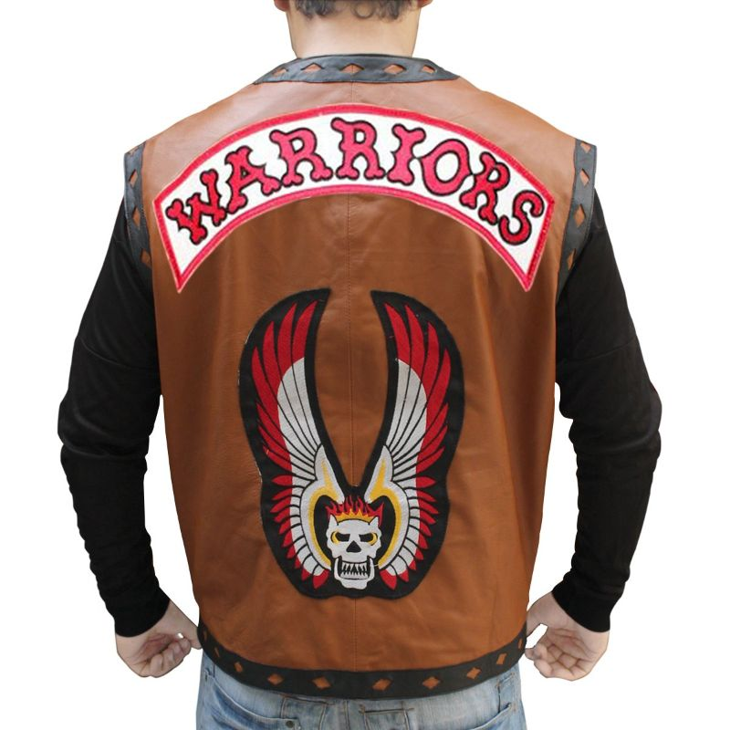 The Warriors Flaming Skull Vest