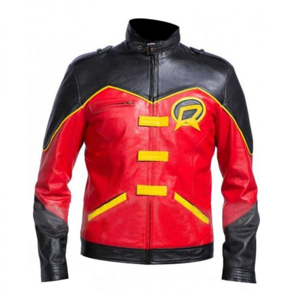 Batman Tim Drake Red Robin Jacket