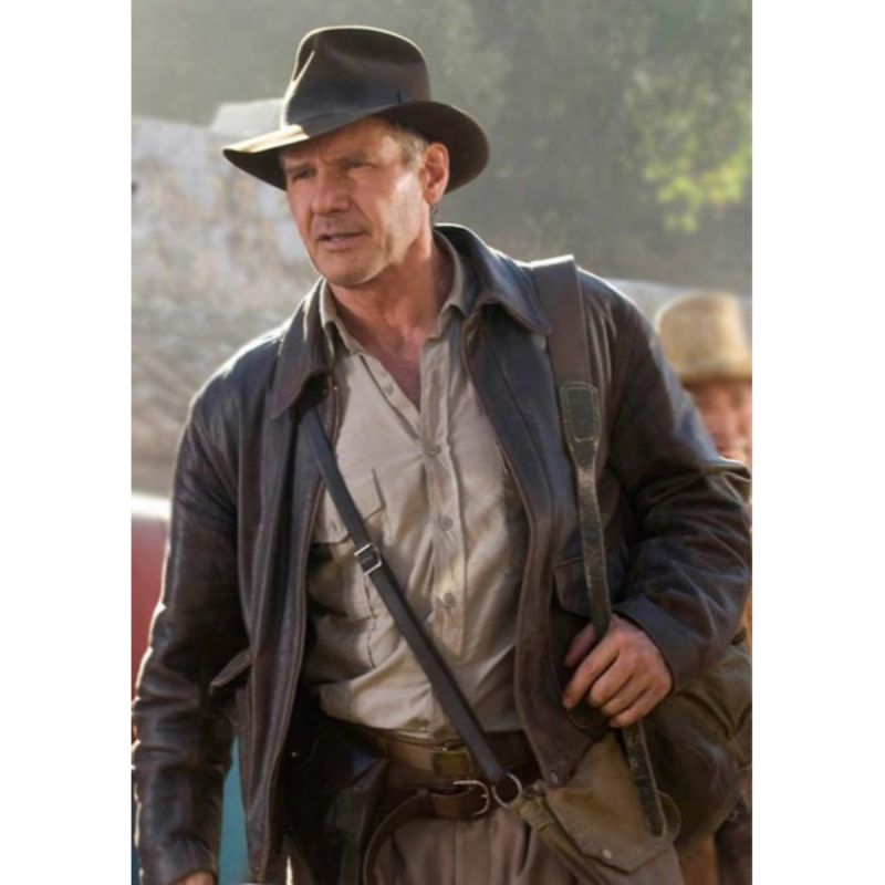 Indiana Jones Harrison Ford Leather Jacket