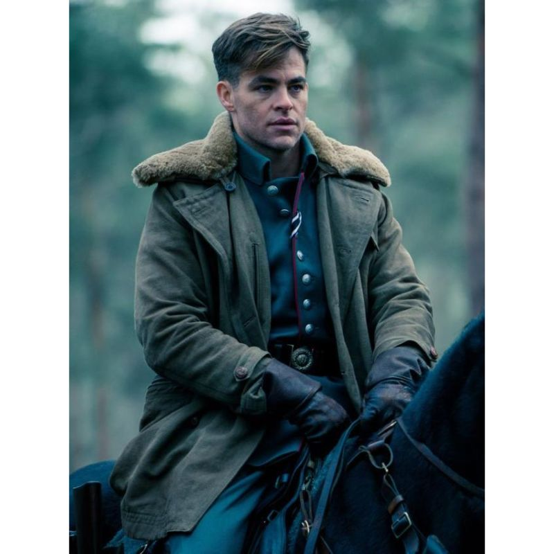 Wonder Woman Chris Pine Coat
