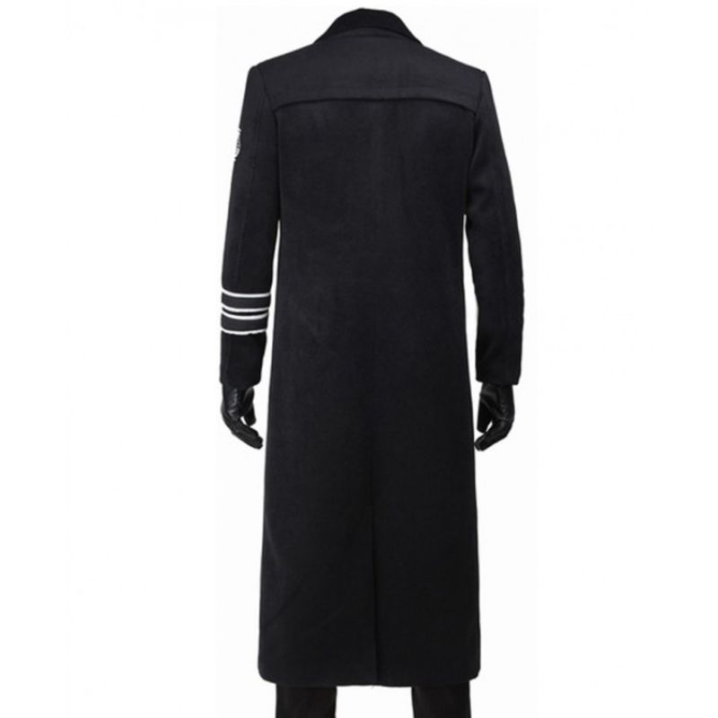 Star Wars Last Jedi General Hux Trench Coat
