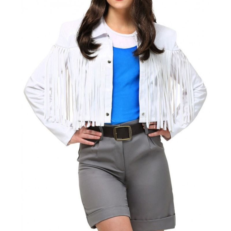 Sloane Peterson Ferris Bueller's Day Off Fringe Jacket