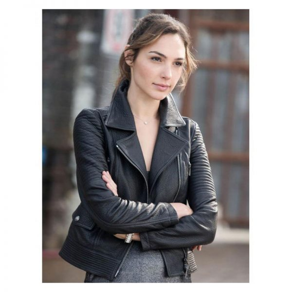 Gal Gadot Black Jacket