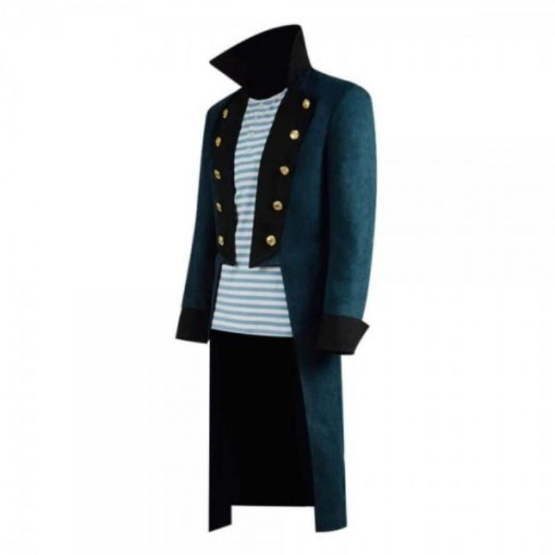 Robert Downey Jr. Dolittle Blue Trench Coat