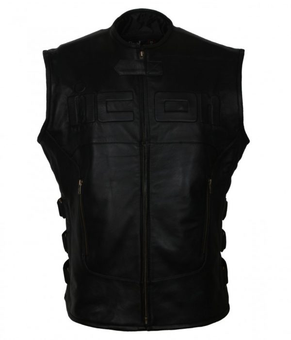 Skull Regulator Icon Biker Vest