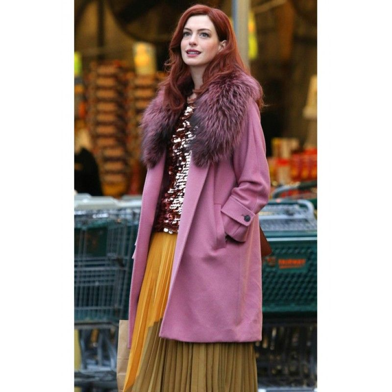 Anne Hathaway Modern Love Coat