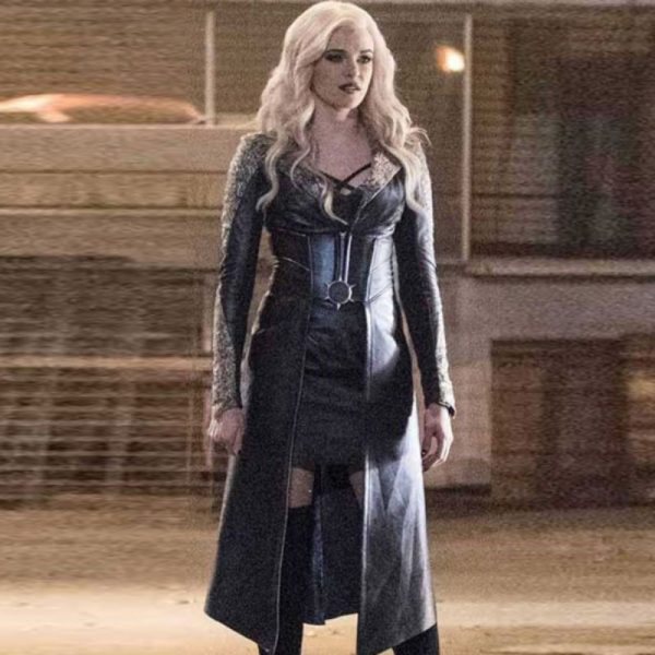 Caitlin Snow The Flash Season 3 Killer Frost Leather Coat