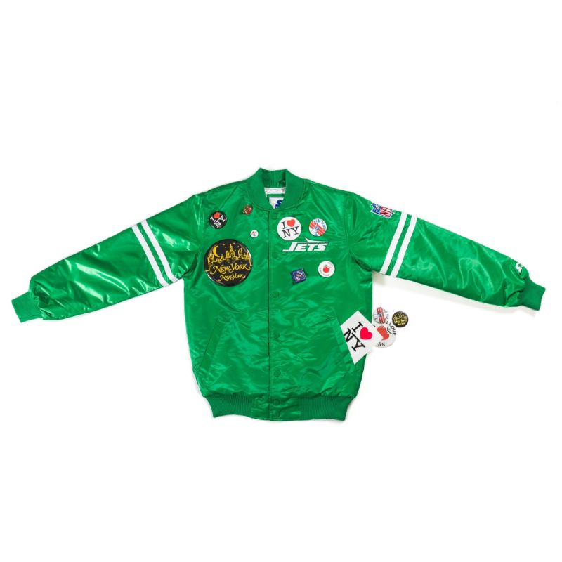 "Packer X Starter ""Coming to America"" New York Jets Jacket"
