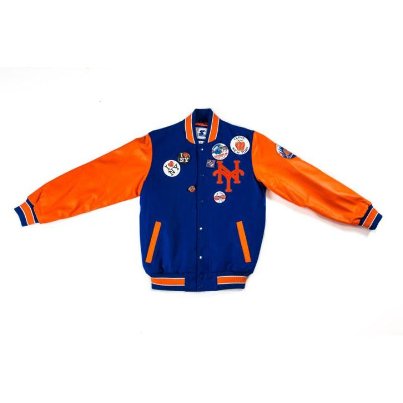 "Packer X Starter ""Coming to America"" New York Mets Jacket"